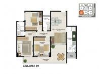 Apartamento 01 - 79,16m²