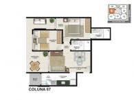 Apartamento 07 - 66,78m²