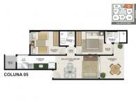 Apartamento 05 - 60,35m²